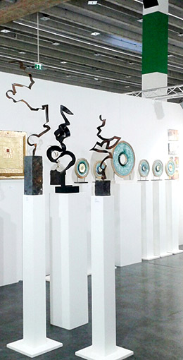 Kuno Vollet at ART Innsbruck 2016, Austria